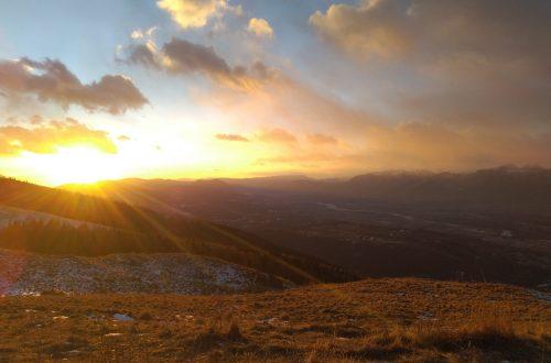 tramonto solstizio inverno