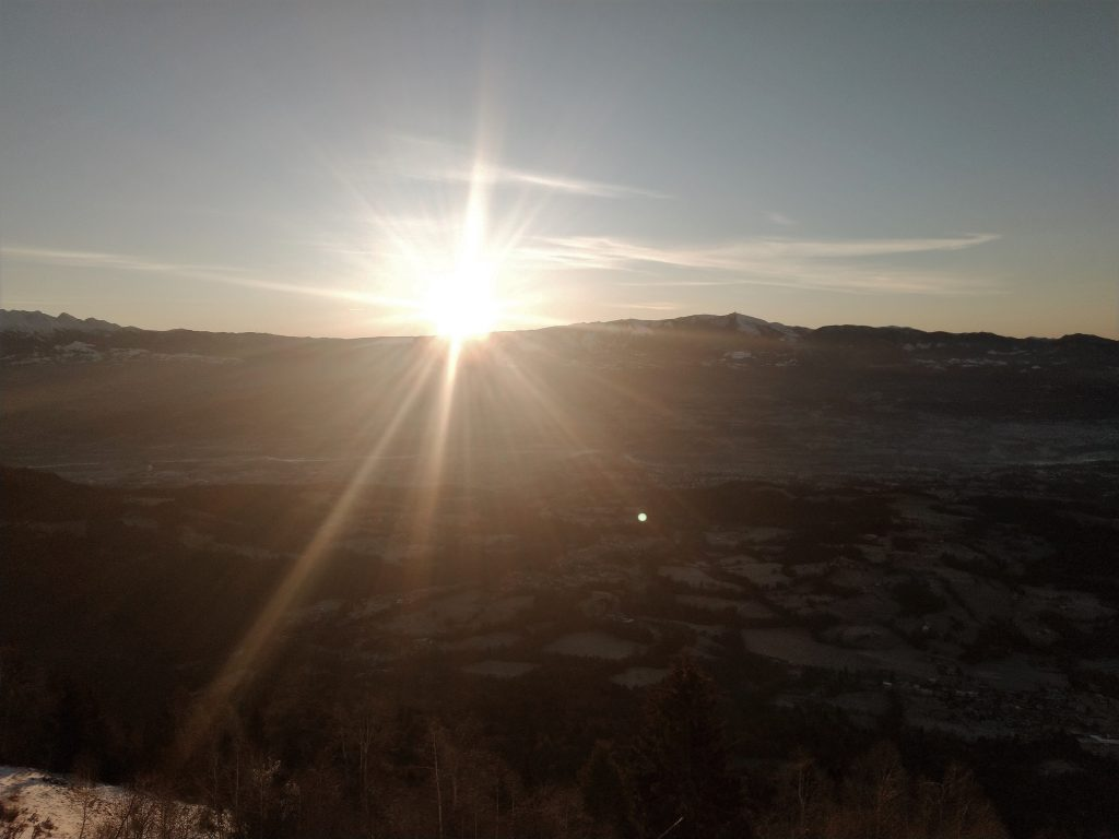alba solstizio inverno