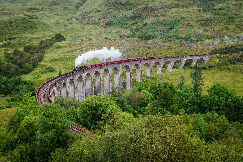 viaggiare in treno in scozia